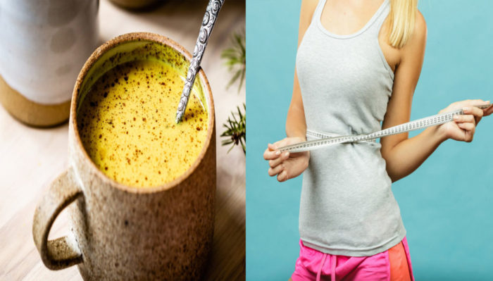turmeric milk for weight loss