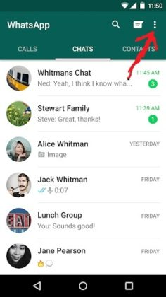 Whatsapp-Message